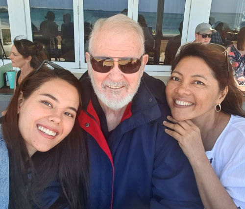 Catriona Gray finally gets to visit parents in Australia