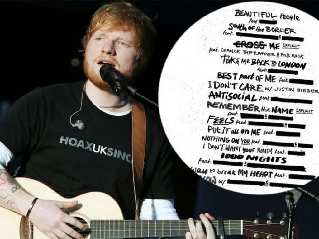 """Ed Sheeran Drops New Album """"No.6 Collaborations Project"""