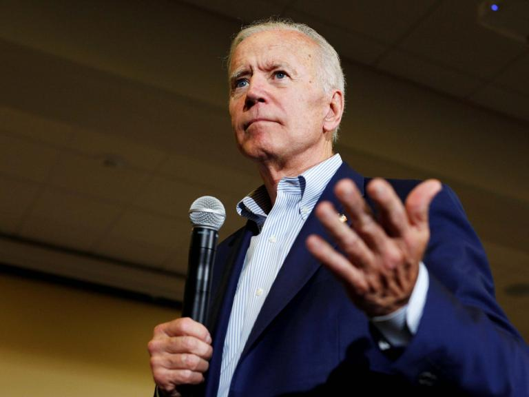 Joe Biden criticised by crowd for suggesting mocking a 'gay waiter' was more socially acceptable five years ago