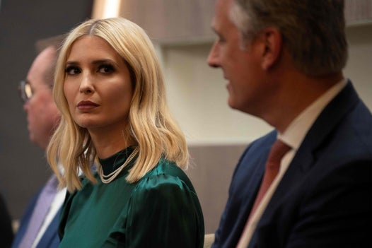 Ivanka Trump blanks reporter asking about impeachment trial