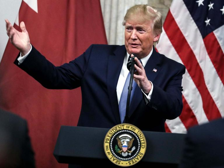 Trump instantly disinvites UK ambassador from dinner after memo leak