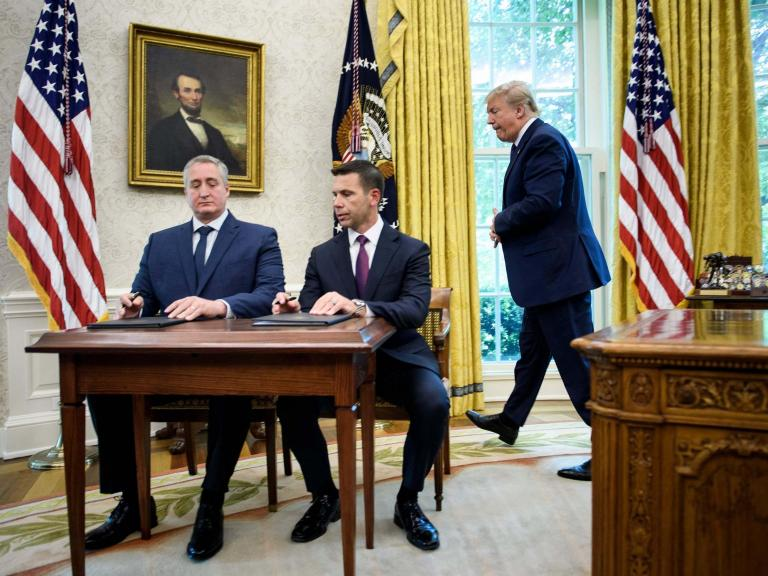 Trump signs 'cruel and illegal' deal with Guatemala to stop asylum seekers getting to US