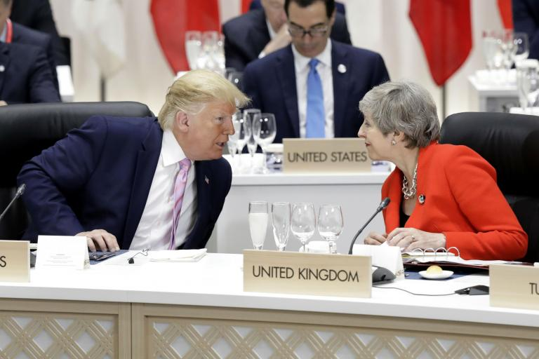 Trump attacks Theresa May over Brexit 'mess' and refuses to deal with UK ambassador