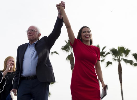 AOC says it would be an honour to be vice president for Bernie Sanders