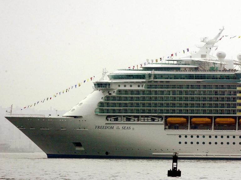 Young girl falls to death from cruise ship 'after being accidentally dropped by grandfather'
