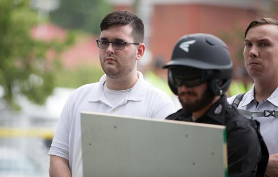White supremacist who killed woman after driving car into Charlottesville protesters begs judge to show him 'mercy'