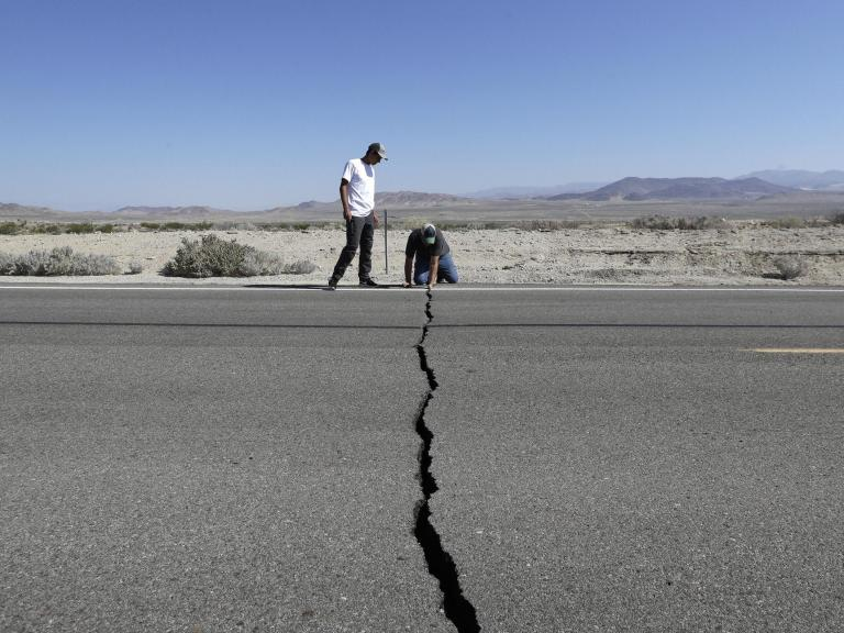 California earthquake: more major quakes and months of aftershocks likely, seismologists say