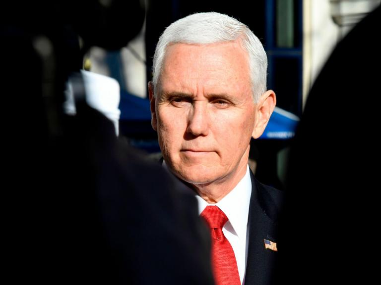 Mike Pence abruptly returns to White House as reports of 'emergency' situation spark online misinformation