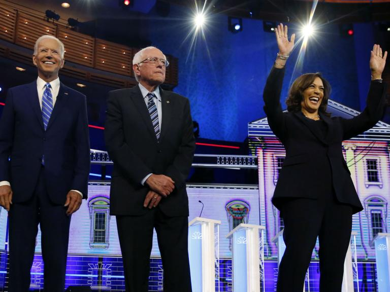 Well follow her campaign until the White House: Harris a hit among among those watching 2020 Democratic debate