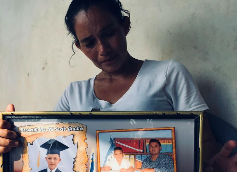 Honduras: Where climate change and mass migration have created a village of women