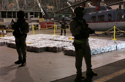 Costa Rican police find six tonnes of cocaine in biggest ever haul