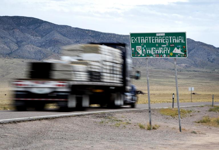 'This has a high potential of getting ugly': Area 51 town warns alien hunters descending on area to stay away