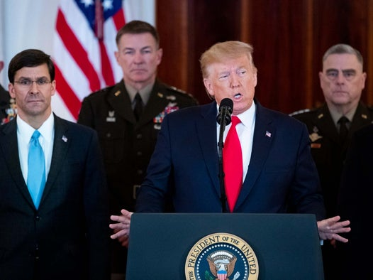 Iran crisis: Trumps own defence secretary admits he didnt see evidence of imminent attacks from Tehran
