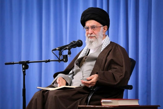 Iran's supreme leader attacks Trump on Twitter after US president's furious New Year tirade