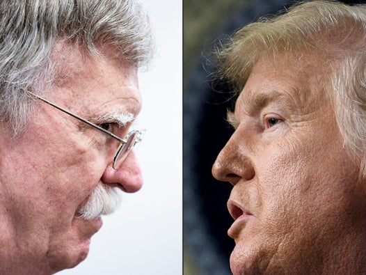 Trump says Bolton would have started World War Six if he had not been ejected from White House