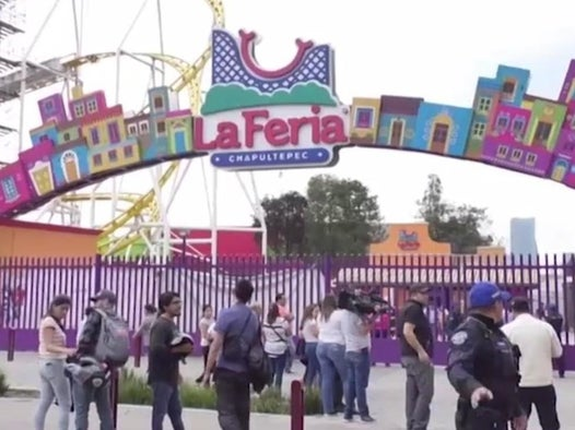 Mexico theme park crash: Two people killed after rollercoaster car flips over mid-ride