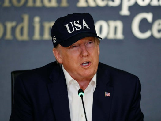 Trump news – live: President rages over disastrous trade war after slumping to double-digit poll deficits against all four major 2020 rivals