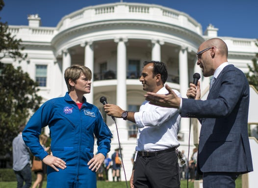 NASA astronaut accused of first space crime denies hacking into wifes bank account