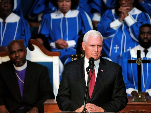 White House posts video of bishop saying demonic spirit is behind homosexuality during sermon attended by Mike Pence