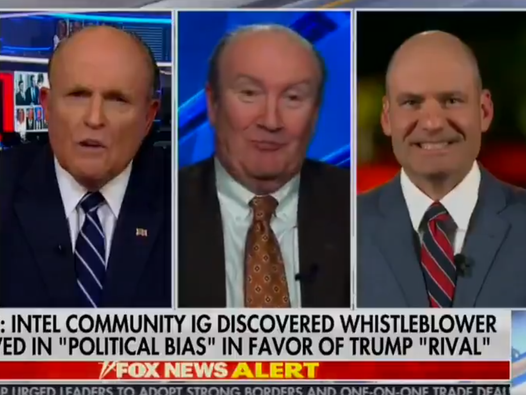 'Shut up, moron. Shut up. Shut up': Trump lawyer Giuliani abuses fellow TV guest live on air as impeachment rocks White House