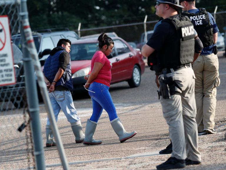 'Cruelty knows no bounds': Trump condemned after 680 detained in largest ICE raids of his presidency