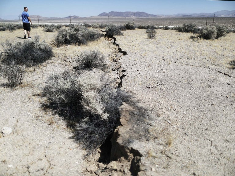 Earthquakes repeatedly striking proposed US nuclear waste site
