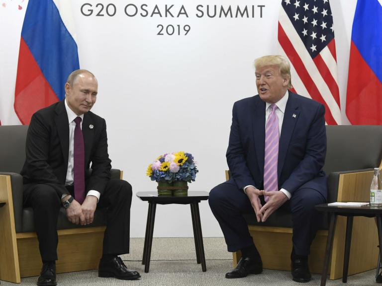 Get rid of them: Trump unites with Putin over disdain for journalists who write stories they dont like