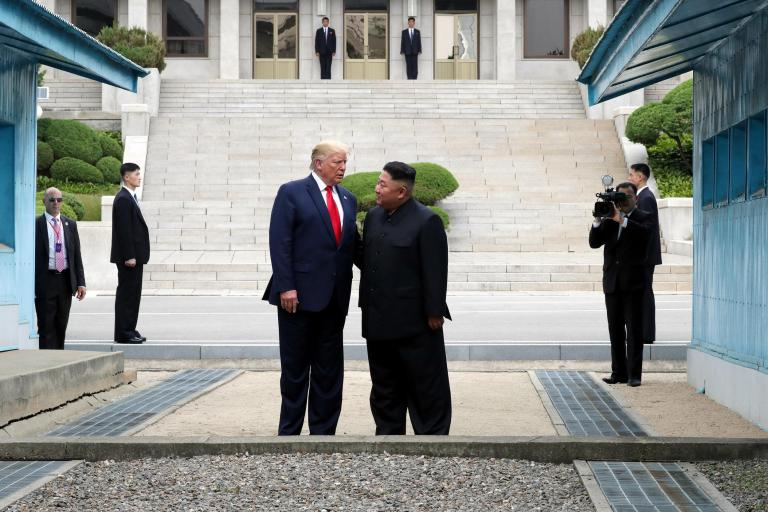 Top Democrats criticise Trump for 'photo-op' meeting with Kim Jong-un on North Korea border
