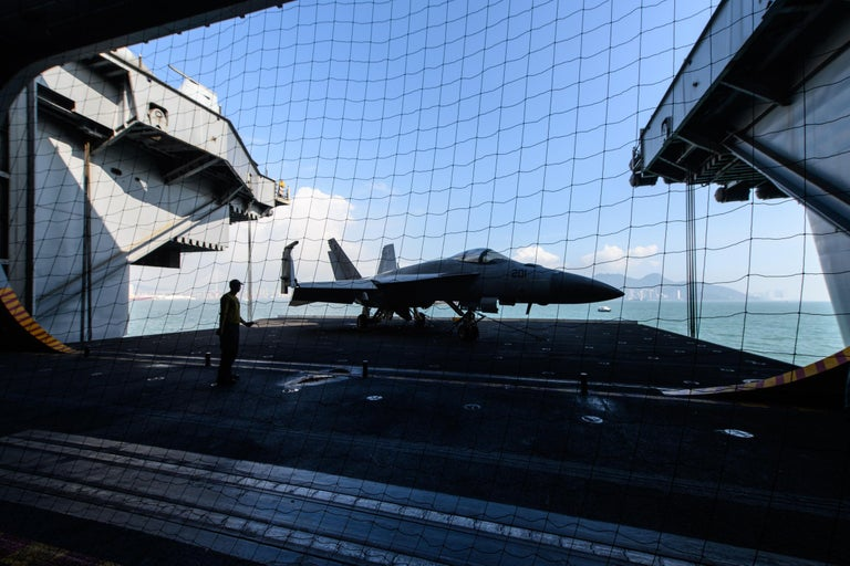 Venezuela jet aggressively shadows US aircraft over Caribbean Sea