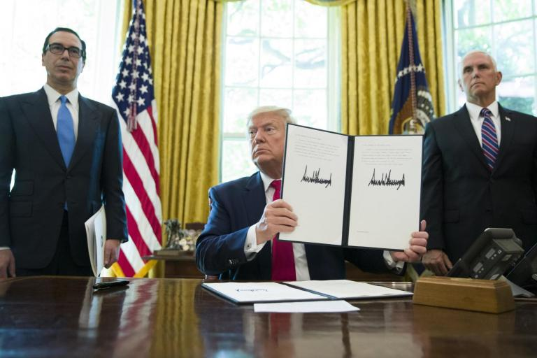 Trump news: President imposes hard hitting sanctions on Iran as White House put on lock down