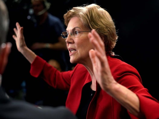 Elizabeth Warren clashes with Iowa father who calls her student loan policy unfair