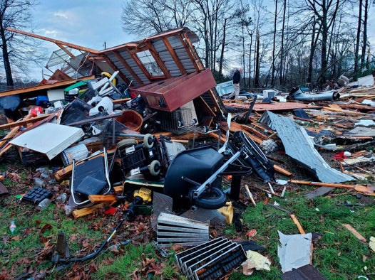 Eleven dead and hundreds of thousands without power as storms and tornadoes sweep across US