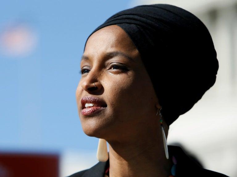 Ilhan Omar calls Tucker Carlson a racist fool