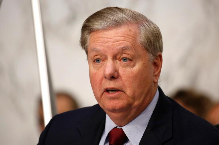Lindsey Graham blames press after Donald Trump causes UK ambassador's resignation