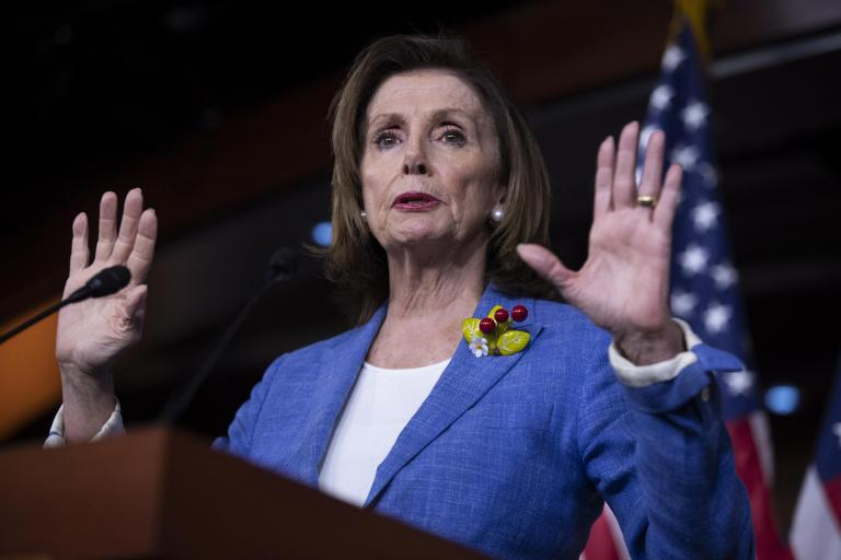 Nancy Pelosi says Democrats demanding impeachment 'only gives me leverage' as over 100 House members call for removal of Trump