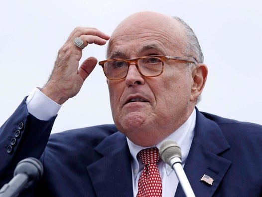 Rudy Giuliani rants about money, Middle East and Bidens in accidental call to reporter