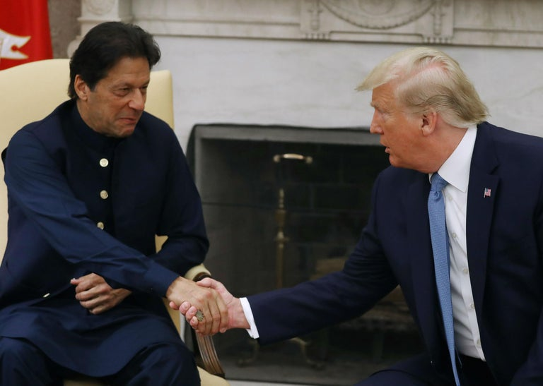 Trump could be the clown who solves the 70-year Kashmir crisis. India and Pakistan should let him try
