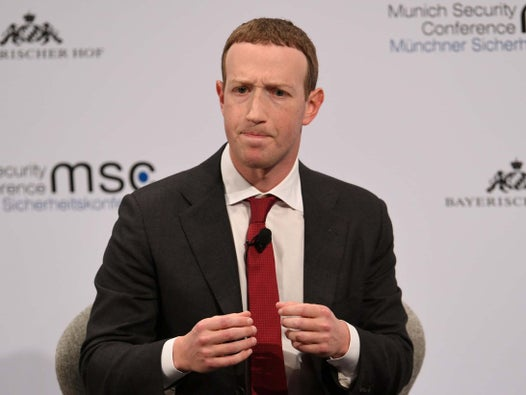 Mark Zuckerberg admits Facebook was 'slow to understand' election interference