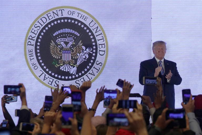 Trump speech: Staffer responsible for fake US presidential seal with Russian eagles and golf clubs fired