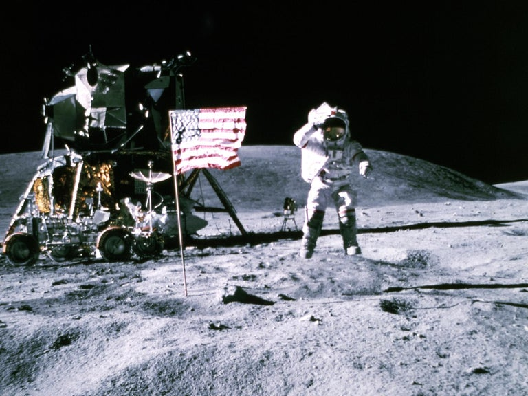 Nasa chief fired as Trump administration vents frustration over moon landing delays