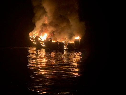 California boat fire: 25 bodies found after 'horrendous' inferno engulfs diving ship off Santa Cruz Island
