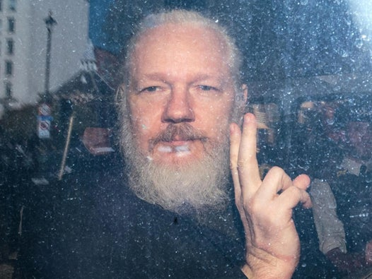 Julian Assange 'subjected to every kind of torment' in Belmarsh prison as he awaits extradition