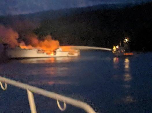 California boat fire: 33 people feared dead as boat bursts into flames off Santa Cruz Island