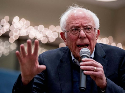 Bernie Sanders goads Trump after sudden poll surge: 'It means you're going to lose'