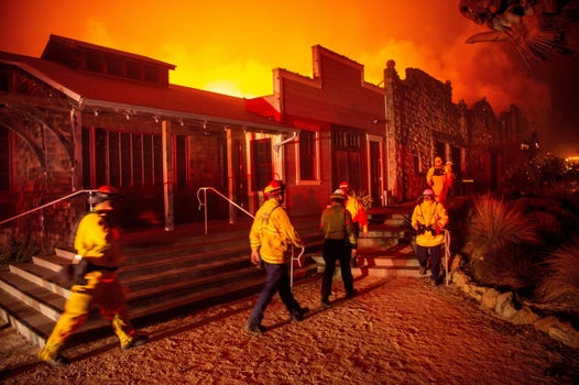 California wildfires force 180,000 to evacuate as 'historic winds send embers travelling for miles