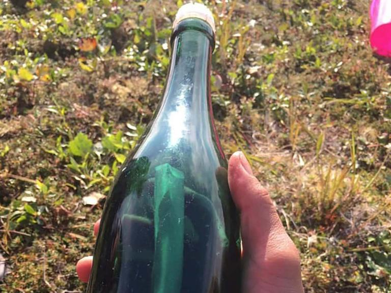 'Sincere greetings from Russian Far East': Cold War message in a bottle washes up in Alaska