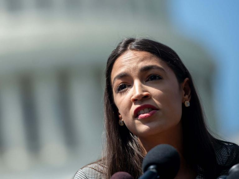 AOC slams shrieking Republicans after comparing migrant detention centers to concentration camps