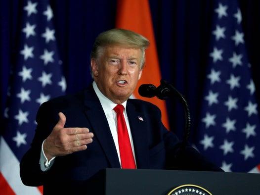 Trump news — live: Presidents coronavirus response slammed as shameful as he spends morning picking apart crazy Democrat debate
