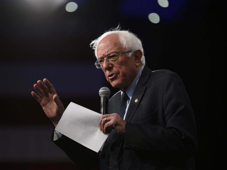 Bernie Sanders calls out Republican 'hypocrisy' over reproductive rights, vowing to codify Roe v Wade in Iowa