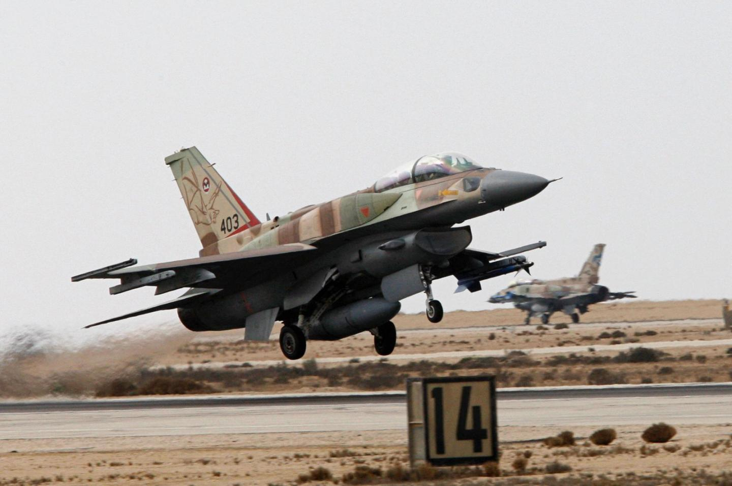 This Israeli F-16I Sufa Fighter Was Shot Down by Syria